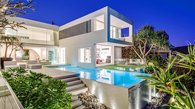 Pat Rafter's property at 46 Seaview Terrace, Sunshine Beach.