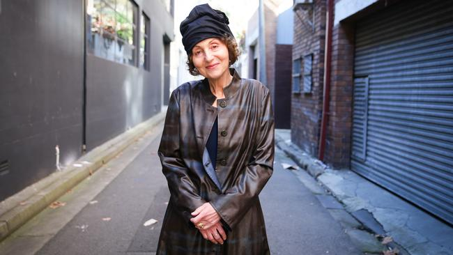 Author Lily Brett in Sydney this week. Picture: Renee Nowytarger