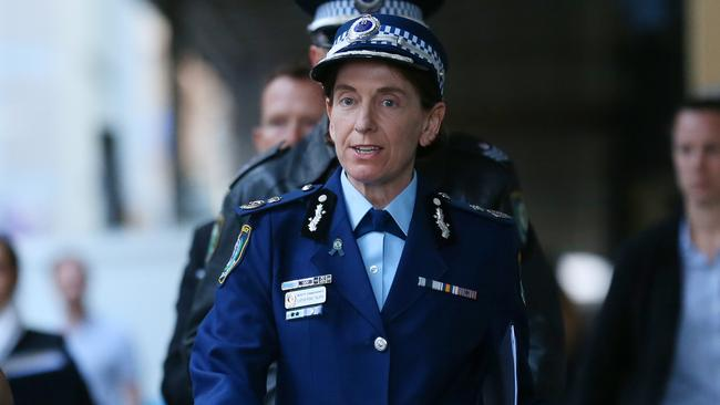 Deputy Commissioner Catherine Burn.