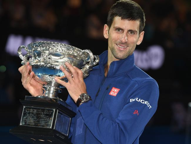 Djokovic claimed grand slam number 11.