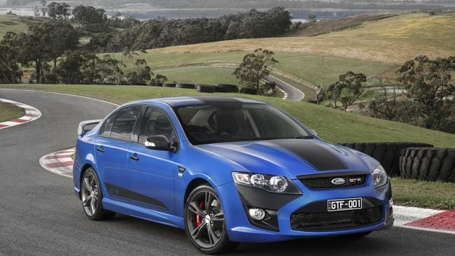 "Bittersweet ... Ford has unveiled its ""best Falcon GT ever"" as production slows to 83 cars a day."