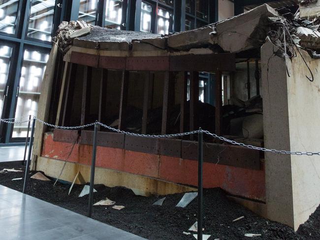 An eerie reminder of the devastation. Picture: www.eldheimar.is