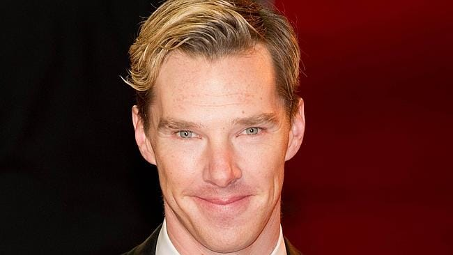 Benedict Cumberbatch was voted the world' sexiest movie star last month. Picture: AFP