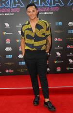 Cyrus Villanueva arrives on the red carpet for the 31st Annual ARIA Awards 2017 at The Star on November 28, 2017 in Sydney, Australia. Picture: Getty