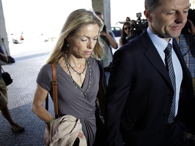 Kate and Gerry McCann, the parents of the missing British girl Madeleine McCann. AP Photo/Francisco Seco
