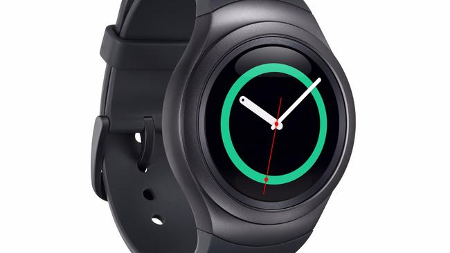 Spinning around ... Samsung's Galaxy Gear S2 smartwatch uses a ring for navigation.