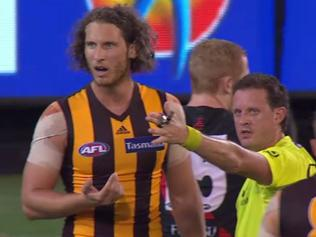 Ty Vickery in third man up incident.