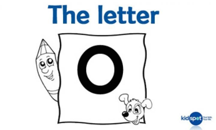 Learning the ABC: The letter O