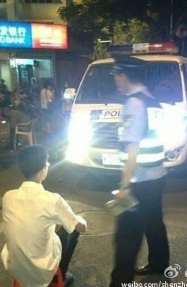 Motorists in China are facing an unconventional method of punishment.