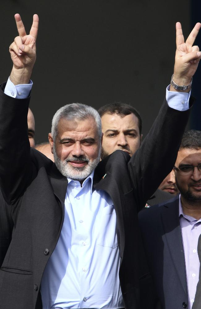 House attacked by Israeli aircraft missile ... Hamas' Gaza leader Ismail Haniyeh.