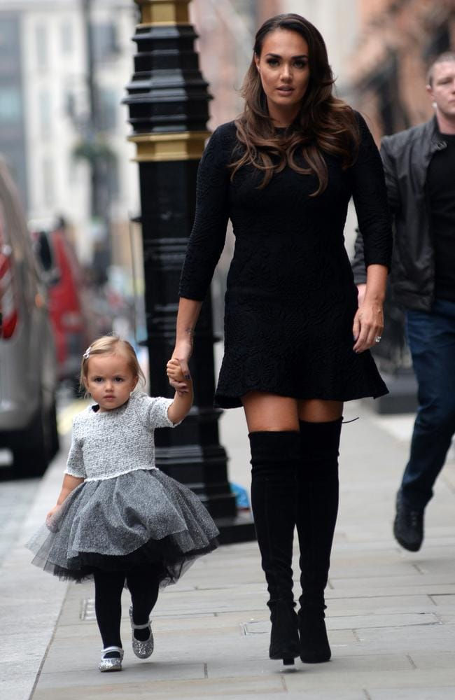Tamara Ecclestone and her three-year-old daughter Sophia, who she still breastfeeds. Picture: Barcroft Image.