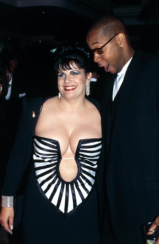 Susie Elelman and Mark Curry on the Logies red carpet in 1995.