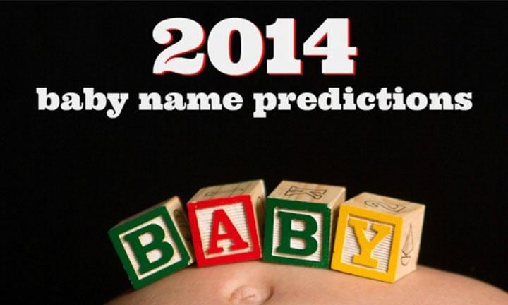 Baby name predictions 2014