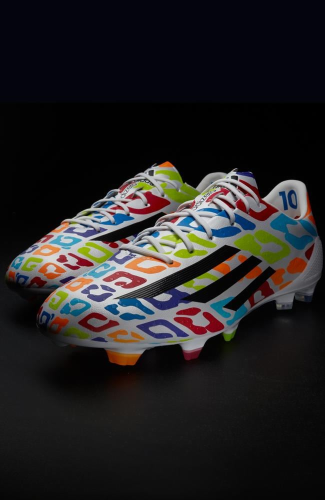 Lionel Messi's new boots, released for his birthday on Wednesday.