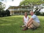 Bruce and Denise at their Palmwoods home in December 2006. Picture: Graeme Parkes