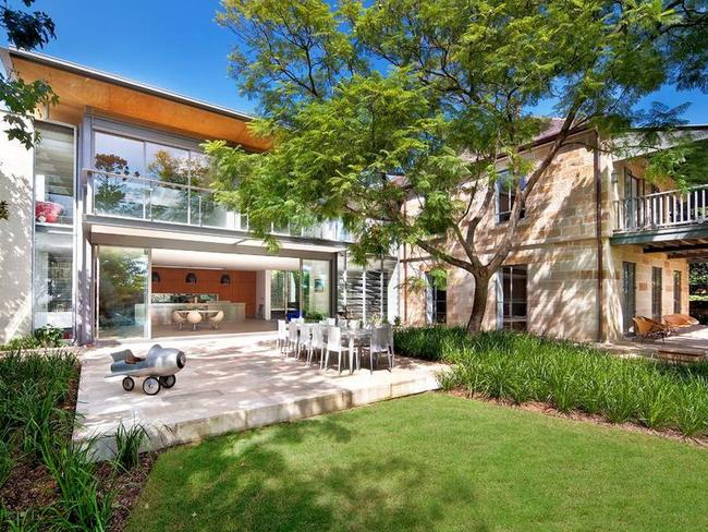 Blanchett and playwright husband, Andrew Upton, have since established roots in Britain after selling their Hunters Hill trophy home.