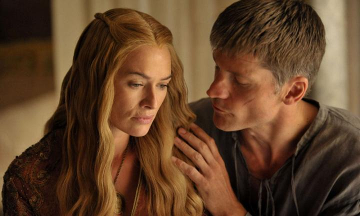 Brother and sister Jamie and Cersei Lannister have a sexual relationship