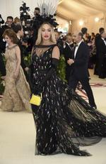 Rita Ora attends the Heavenly Bodies: Fashion and The Catholic Imagination Costume Institute Gala at The Metropolitan Museum of Art on May 7, 2018 in New York City. Picture: AP