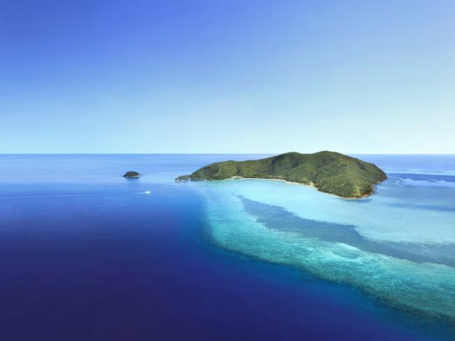 Island paradise ... Hayman Island, where Mariah Carey and James Packer may be tying the knot.