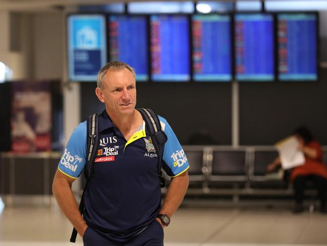 Gold Coast Titans coach Neil Henry is unsure of his future. Picture: Phil Hillyard
