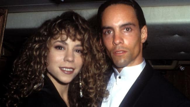 Mariah Carey and her brother, Morgan Carey.