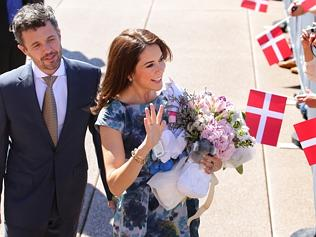 The other royal effect - Prince Frederik and Princess Mary in Sydney. Picture: Cameron Richardson