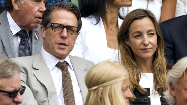 Grant and Anna Eberstein at Wimbledon in 2015. Picture: Splash News