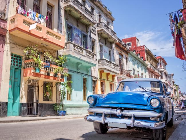The time-warp of Havana is more decrepit than romantic.