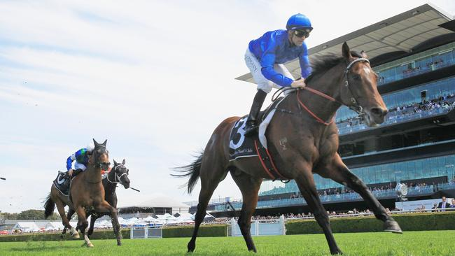 Interlocuter will be ridden by the in-form Tye Angland.