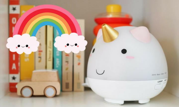 The unicorn diffuser is the accessory every nursery needs