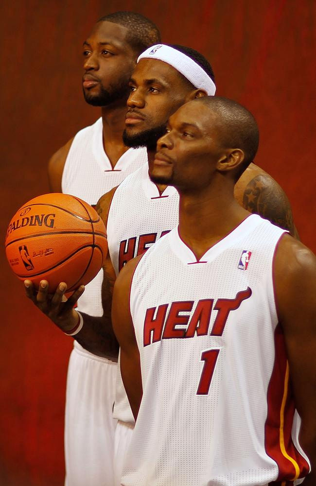 Miami's Big Three are at long odds to add to their two championships, Nate Silver says.