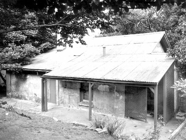 An undated photo of Cadman's Cottage, the oldest remaining dwelling in Sydney, before its restoration. Picture: Tim Collis-Bird.