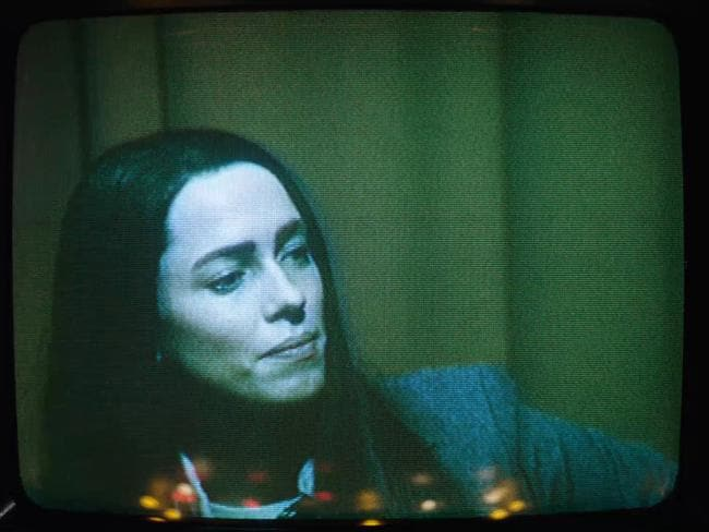 "Rebecca Hall in a scene from the film, ""Christine,"" directed by Antonio Campos. Picture: Joe Anderson/Sundance Institute via AP"