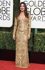 Priyanka Chopra attends the 74th Annual Golden Globe Awards at The Beverly Hilton Hotel on January 8, 2017 in Beverly Hills, California. Picture: AFP