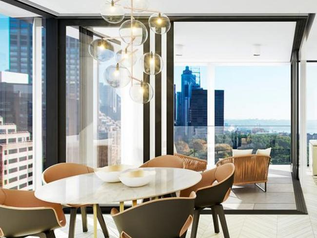 Pocket penthouse fetches top dollar
