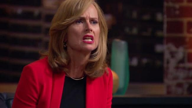 RedBalloon founder Naomi Simson wasn't impressed.