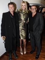 30 new brands arrive at Myer Sydney City store. A few of the designers on hand for the promotion. Wayne Cooper, Charlotte Dawson, Jayson Brunsdon. Picture: Noel Kessel