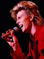 David Bowie file images from italian live sets. From 1987 to 2003.