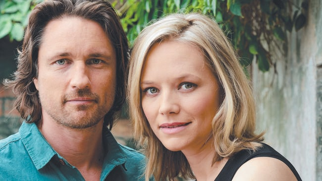 Never caught viewers' attention ... Martin Henderson and Adrienne Pickering in drama Secrets and Lies.