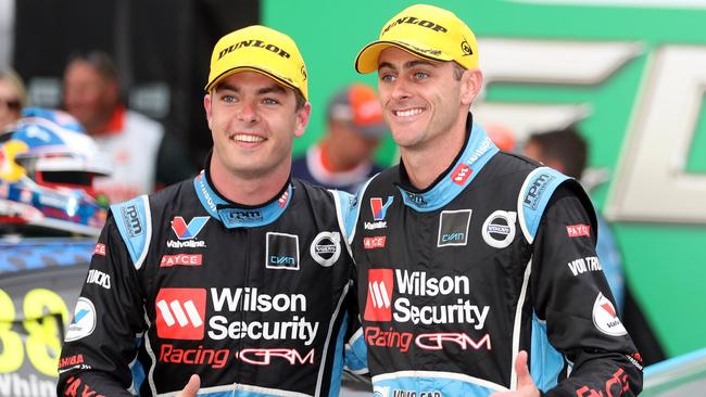 Scott McLaughlin (left) is ready to make a run at third overall spot.