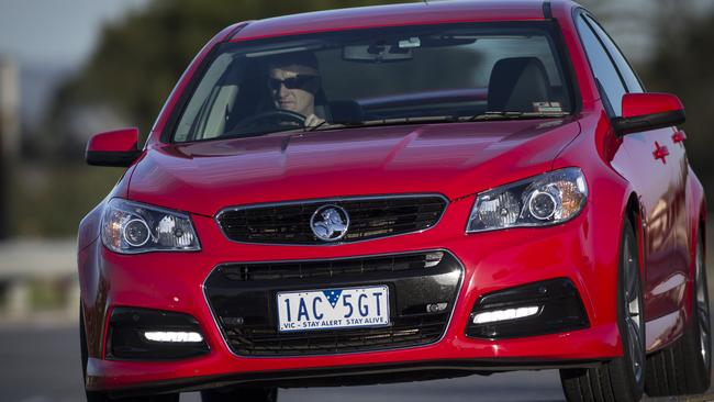 An upset to Ford ... the Holden Commodore SV6 Storm.