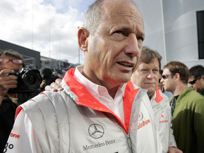 Ron Dennis was a harsh victim of Bernie's sharp tongue.