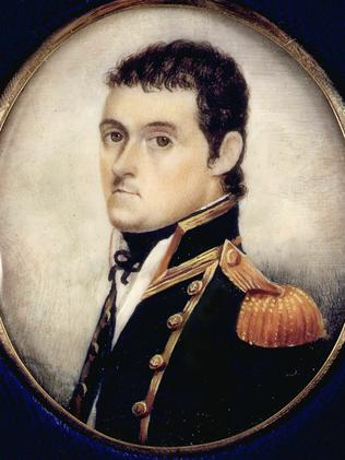 British explorer and navigator Captain Matthew Flinders.