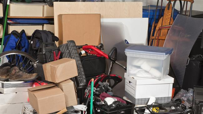 Australians are not getting on top of their clutter.