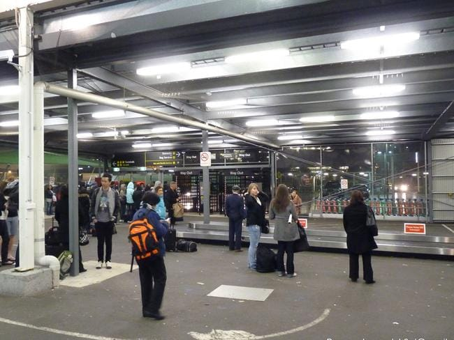 "Tiger Airways terminal in Melbourne is called the ""tin shed"". Picture: Be"