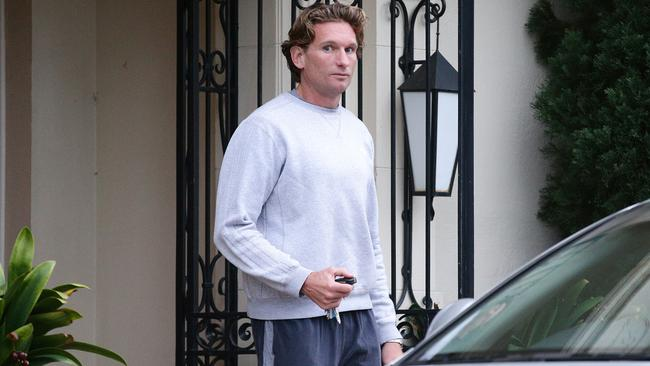 James Hird will not be in the coaches box this season. Picture: Norm Oorloff