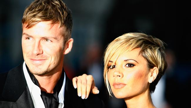Posh and Becks 4 eva. Picture: Getty Images