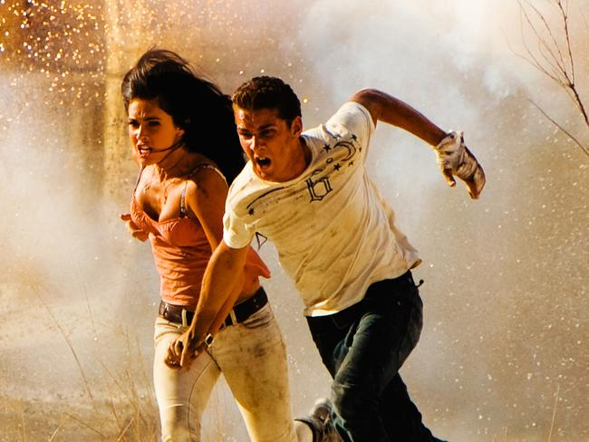 Megan Fox and Shia LaBeouf starred in Transformers: Revenge of the Fallen.