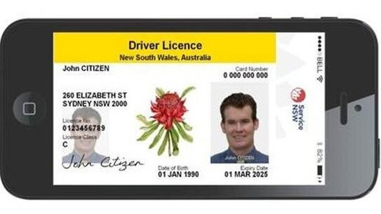 Image result for NSW drivers will be first in Australia to start using a digital licence