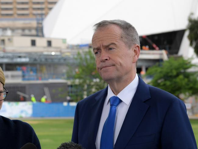 Opposition leader Bill Shorten yesterday said the hack was serious. Picture: AAP